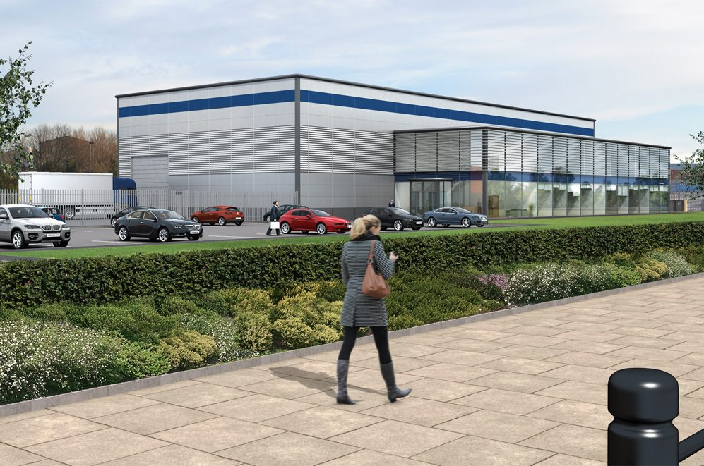 The Neptune Centre is set to be built in the North East beside the River Tyne in partnership between British Engines and Newcastle University