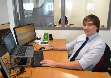 Liam, British Engines Senior Business Systems Engineer
