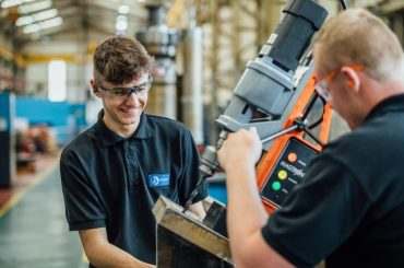 North East apprenticeship scheme opens at British Engines