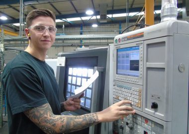 Elliot describes his engineering career so far as a CNC Machinist