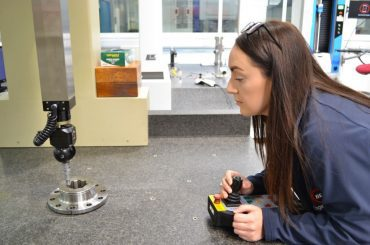 Sam, CMM Inspector at BEL Engineering tells us how she's working to transorm the future of engineering
