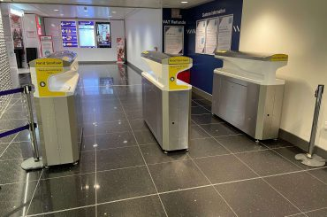 FLO-SANS on trial at Newcastle Airport