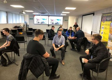 New apprentices begin their careers at the British Engines Group